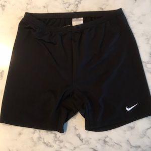 Black Nike bike shorts